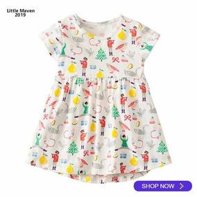 Vestido Niña Tipo Carters Verano Talla 5 Años Nuevo