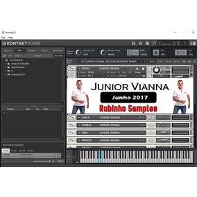 Kit Kontakt Junior Vianna Junho 2017 Com Ritmo Yamaha