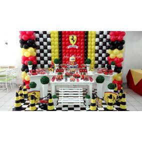 Decoração De Festa Provençal Luxo Ferrari Completa - Locação