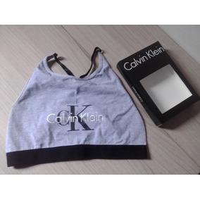 Top Feminino Calvin Klein Sem Bojo Com Caixa 34b18a498e152