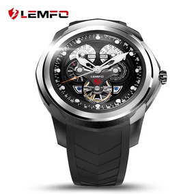 b877c09ce9a Smartwatch Relógio Inteligente Lemfo Lf17 Android Ios