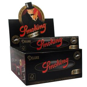 Seda Smoking Preta Deluxe King Size Grande Original Gratis