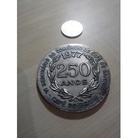 Medalhão Raro De Santos