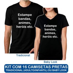 Camisetas Manga Curta para Feminino em Goiás no Mercado Livre Brasil 9ff825149860b