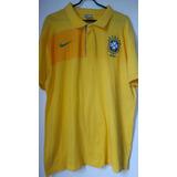 7b5f3d99d4 Camisa Polo Nike Cbf Brasil no Mercado Livre Brasil