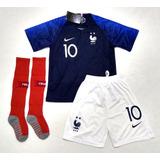 Uniforme Infantil Seleção Da França - Futebol no Mercado Livre Brasil 2667903ae8cfc