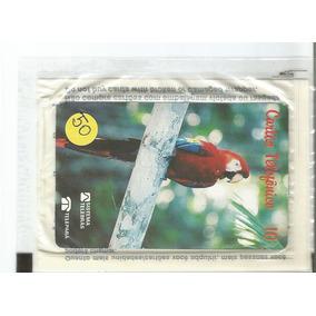 Cartão Telefônico Arara Vermelha (no Lacre) - Interprint