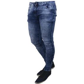 Kit 5 Calças Atacado Jeans Preta Masculina Slim Skinny Lycra