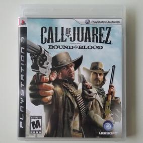 Call Of Juarez Bound In Blood Ps3 Mídia Física Perfeito
