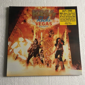 Kiss Lp Rocks Vegas Vinil + Dvd 2016 Lacrado