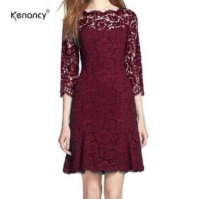 Kenancy Womens Completa Elegante Floral Del Cord¿n De Ajust