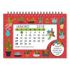 Calendário 2018 Cactos 2564 Fina Ideia