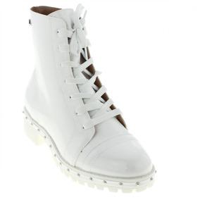 6ffd6ef5d Bota Branca Sem Salto Feminino Botas Vizzano - Sapatos no Mercado ...