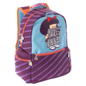 Mochilas Chenson Mafalda Primaria Escolares Originales 63087