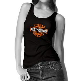 Harley Davidson Playera Dama Sin Mangas Mod2 -envio Gratis 9a363b199995c