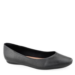 99b3f04336 Sapatilha De Couro Preta Usaflex - Sapatos no Mercado Livre Brasil