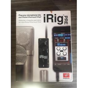 Irig Pre - Interface De Áudio Ik Multimedia Para Microfone