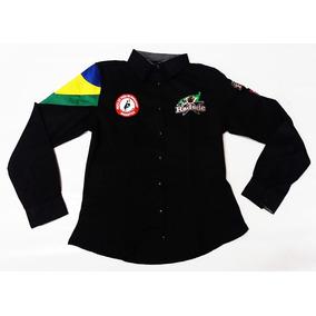 Camisa Manga Longa Feminino em Minas Gerais no Mercado Livre Brasil 73bf18d6ed69e