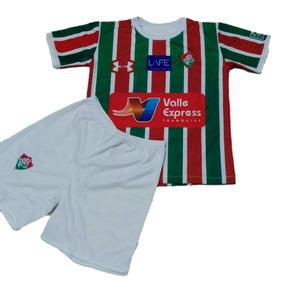 bea6f29f52 Uniforme Infantil Do Fluminense - Camisetas e Blusas no Mercado ...