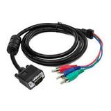Cable Adaptador Vga A Componente 25ft