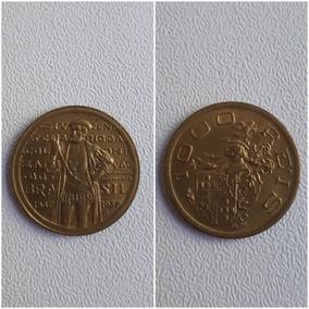 Moedas 1000 Reis 1932 Serie Vicentina Casacao Ou Coletao