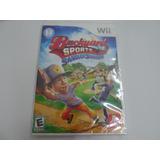 Juego Wii Backyard Sports Sandlotsluggers