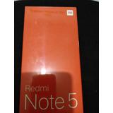 Redmi Note 5 ,cor Preto, 4 Gb De Ram 64 Gb De Rom,global.