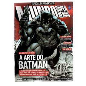 Revista Mundo Dos Super Heróis Especial A Arte Do Batman