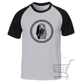 Camiseta Last Kings Raglan Manga Curta - a08a4a4834e