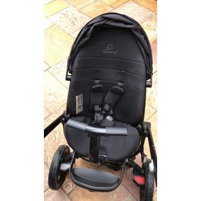 Carrinho De Bebê 3 Rodas Moodd Quinny Black Devotion