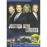 Box - Justiça Sem Limites - Quarta Temporada - 5 Dvds Lacrad