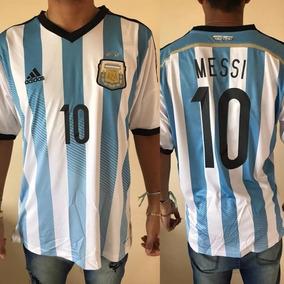 d03546ceea Camiseta Argentina 2014 Messi Adultos - Camisetas de Selecciones en ...