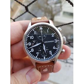 4dc6e30e275 Relógio Archimede Pilot - Em Ótimo Estado Ñ Iwc Stowa Laco