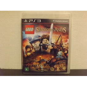 Ps3 Lego Senhor Dos Anéis - Completo - Aceito Trocas...