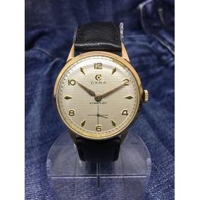 25ddcee6dc5 Relogio Cymaflex Antigo De Ouro - Relógios no Mercado Livre Brasil