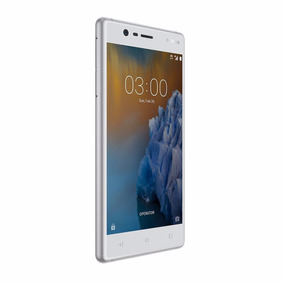 Celular Libre Nokia 3 Blanco 2gb/16gb Ampliable 128gb 8mp