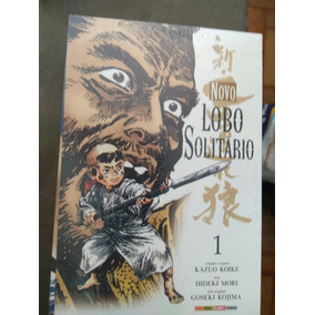 Novo Lobo Solitário - Volumes 1 , 2 , 3 Lacrados