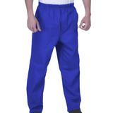 Calça Em Oxford Uniforme Profissional Azul Marinho