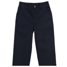 Pantalón De Uniforme Escolar Azul Marino Talla 8 Americano