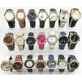 Kit C/05 Relógios Feminino Atacado Revenda + Caixinha Brinde
