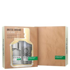 Conjunto United Dreams Aim High Deo Benetton (2 Produtos)