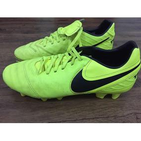 4e710c2084 Chuteira Hypervenom Campo Profissional Nike - Chuteiras Verde no ...