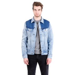 Campera Jeans Lee Patch Denim Jacket