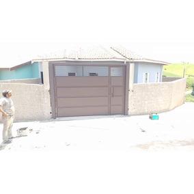Portao De Garagem Modelo Basculante Medidas 3x250, Chapa 18