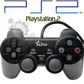 Controle Analógico Para Playstation 2 Ps2 Com Fio !