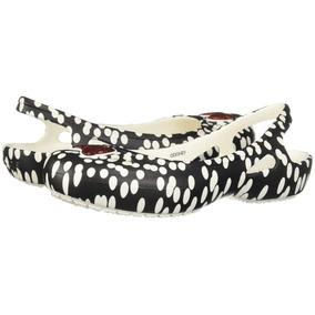 Flats Crocs Kadee Minnie Dots Slingback Nuevo-2052