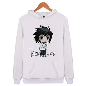 3eb608e00 Moletom Blusa De Frio Canguru Anime Death Note