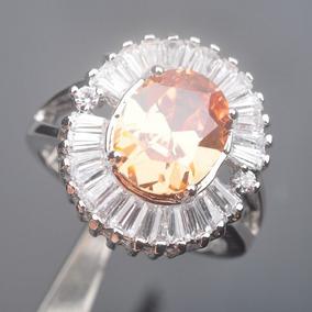 7b031fc8cc5a Piedras Preciosas Topacio Marrón De Diseño Clásico... (7) por eBay