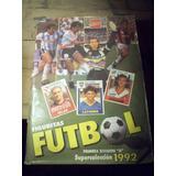 Album Completo Futbol 1992 + Poster Munidales 1994