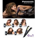 Plancha De Cabello Multifuncional Panasonic 6 En 1